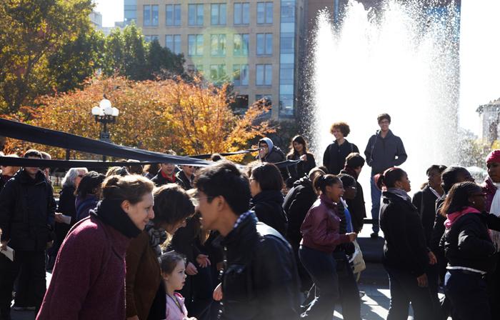 עמדות, פרפורמה 2011 ניו יורק